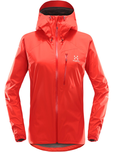 Haglöfs W's L.I.M III Jacket Pop Red